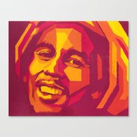 Canvas Print featuring bm by One Pepinillo