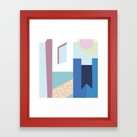 Hotel Mayfair Framed Art Print