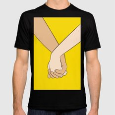 Love Mens Fitted Tee SMALL Black