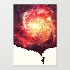 The universe in a soap-bubble! Canvas Print