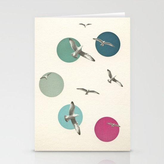 Circling Stationery Card