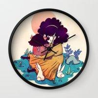 Sisters 5/5 Wall Clock