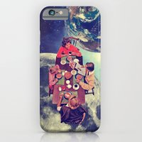 iPhone Cases featuring Space Breakfast by Serra Kiziltas