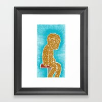 Lupus Kid Framed Art Print