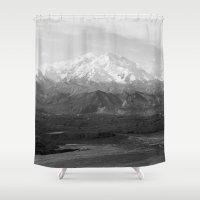 Mt McKinley Shower Curtain