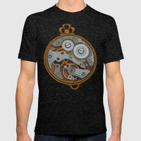 Pieces of Time Mens Fitted Tee Tri-Black SMALL