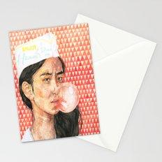 Bubblegum Girl Stationery Cards