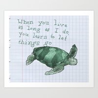 Bit Of Advice Art Print