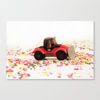 Candy Land Construction Canvas Print