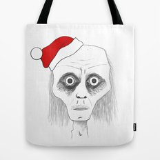 Tired Santa Tote Bag