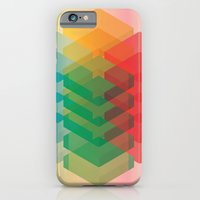iPhone & iPod Case featuring Color Cubes by Jeff Lange
