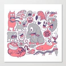 Ol' Doodle Canvas Print
