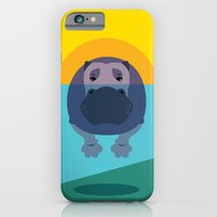 iPhone & iPod Case featuring Hippo by Steph Dillon