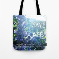 Save the Bees Campaign Tote Bag