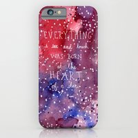 born at the heart of a star iPhone 6 Slim Case