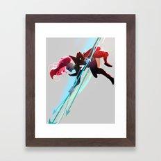 Undertale - Undyne Framed Art Print