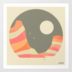 LAKE POWELL, GLEN CANYON Art Print