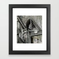 English Gothic Framed Art Print