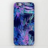 Waikiki Tropic {Blue} iPhone & iPod Skin