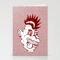 Punk Stationery Cards