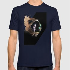 Ripley Mens Fitted Tee Navy SMALL