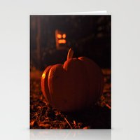 Autumn in October Stationery Cards