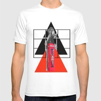 343 Mens Fitted Tee White SMALL