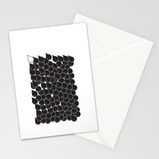 FOLLOW ME  FOLLOW YOU - BLK Stationery Cards