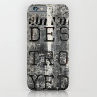 iPhone & iPod Case featuring But Not Destroyed by Endure Brand