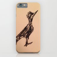 iPhone Cases featuring Bird, species unknown by SC Gruffin