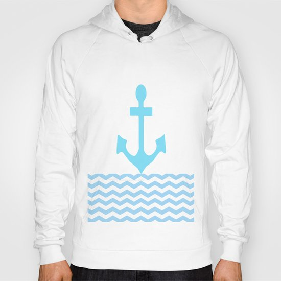 Aqua Anchor Hoody