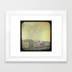 Paris Row Framed Art Print