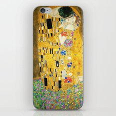 Gustav Klimt The Kiss iPhone & iPod Skin