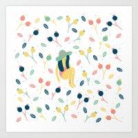 Fruta Art Print