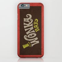 iPhone & iPod Case featuring Wonka Bar by Cloz000