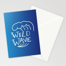 Wild Wave Stationery Cards