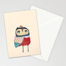 Sweet Owl. owl, owl art, owl print, owls Stationery Cards