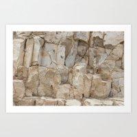 Arizona rock texture Art Print