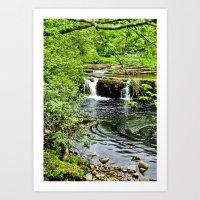 River Swale - Keld Art Print