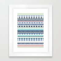 MOEMA COTTON CANDY Framed Art Print