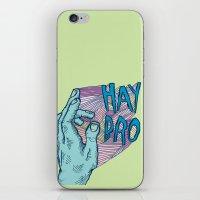 HAY BRO iPhone & iPod Skin