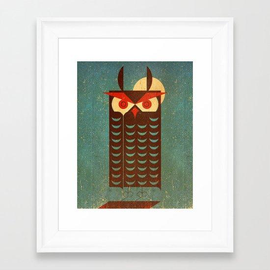 Owlie Framed Art Print