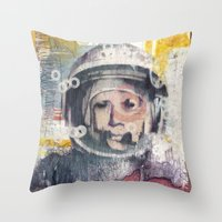 Business As Usual Throw Pillow