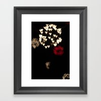 Heart Bloom Framed Art Print