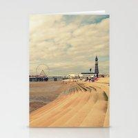 Blackpool Beach Stationery Cards