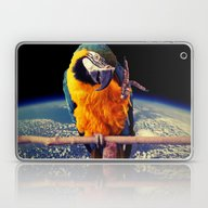 Laptop & iPad Skin featuring Parrot by Cs025