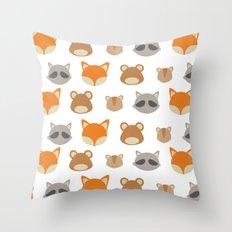 Woodlands Minimal Throw Pillow