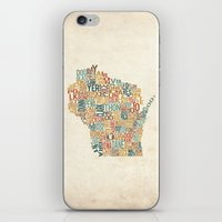 Wisconsin by County iPhone & iPod Skin