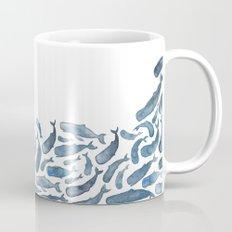 Whale Wave.  Mug