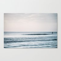 Peace and Ocean Canvas Print